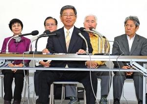 仲里氏、沖縄4区から出馬表明 衆院選