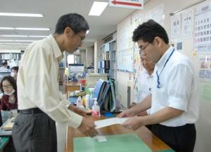 沖縄防衛局、辺野古工事の変更申請一部取り下げ