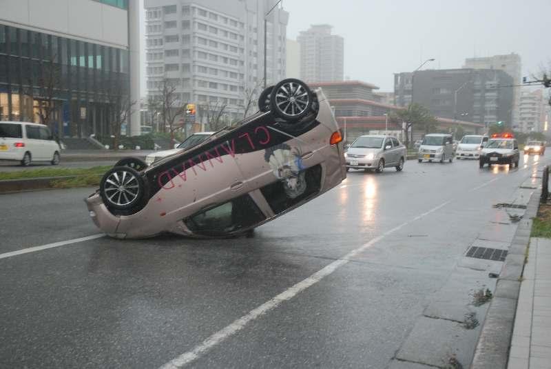軽自動車に関わる事件事故YouTube動画>2本 ->画像>90枚