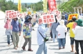 辺野古新基地:抗議の男性、一時拘束