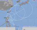 台風16号が発生 フィリピンの東