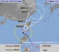 台風16号、ゆっくり北上 先島諸島へ