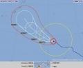 台風18号、4日大東島に接近か