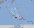 台風18号 沖縄本島・大東島地方があす強風域