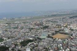 米軍普天間飛行場を抱える宜野湾市