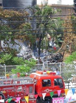 2004年8月に沖国大に墜落した米海兵隊CH53大型輸送ヘリ