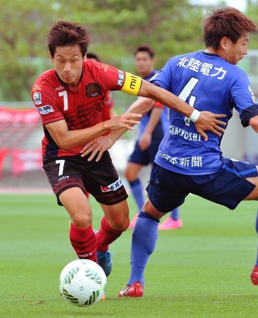 FC琉球、2位に後退 富山とドロー