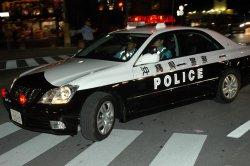 沖縄県警のパトカー