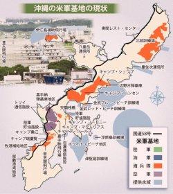 沖縄の米軍基地の現状