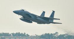 米空軍のF15戦闘機
