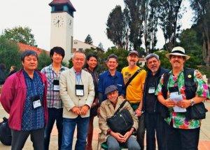 「ベテランズ・フォー・ピース(VFP)」総会に参加した琉球沖縄国際支部のメンバーら