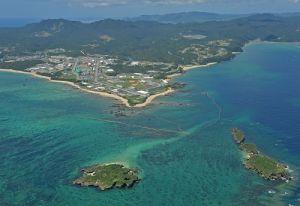 名護市辺野古沖(資料写真)
