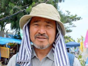 沖縄平和運動センターの山城議長