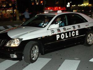 沖縄県警のパトカー(資料写真)