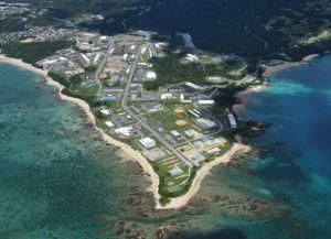 (資料写真)キャンプ・シュワブ=名護市辺野古