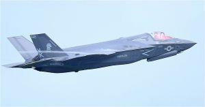 最新鋭ステルス戦闘機F35B