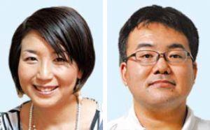 (左から)猿田佐世氏、池上大祐氏