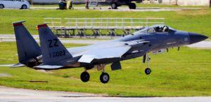 海上に墜落した米軍嘉手納基地所属・F15戦闘機の同型機