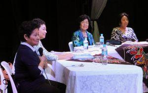 先祖供養の重要性などが語られた座談会