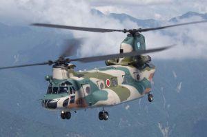大型輸送ヘリコプターCH47J(航空自衛隊ホームページより)