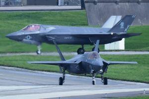 (資料写真)F35B戦闘機