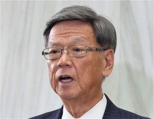 翁長雄志知事(資料写真)